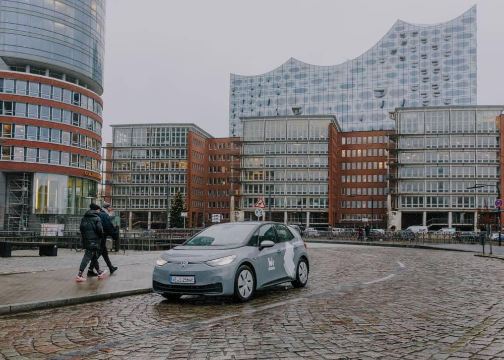 WeShare Elektroauto in Hamburg