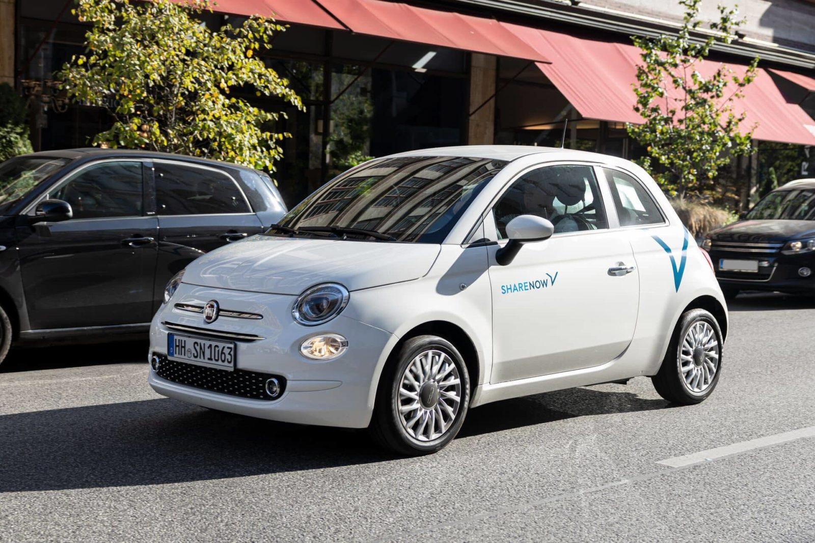 Carsharing in Hamburg mit ShareNow