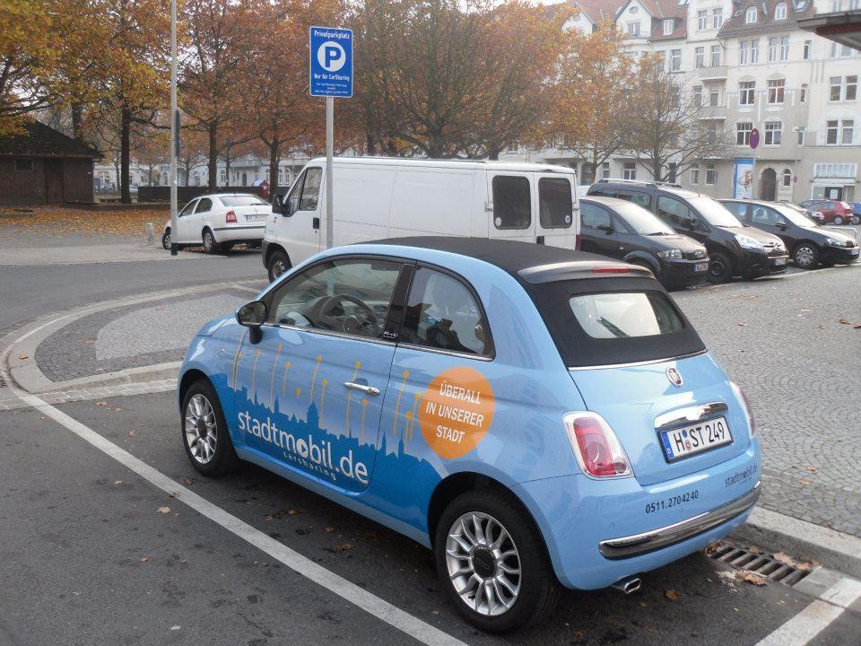 Stadtmobil in Hannover